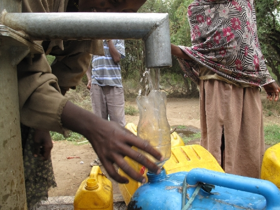 WATER ! WATER! WATER! is the cry of Ethiopia.