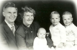 Harding Family 1953
